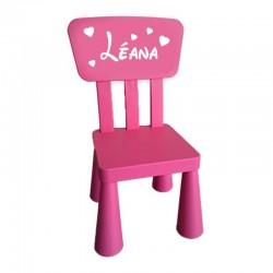 Chaise enfant personnalisée...