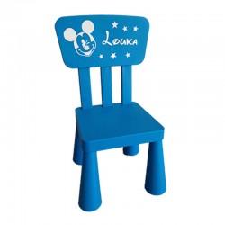 chaise enfant personnalisée