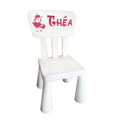 chaise enfant personnalisee