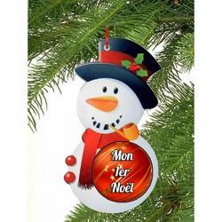 Boule de Noël personnalisée...