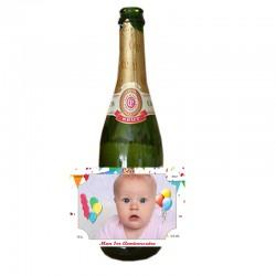 etiquette personnalisee pour bouteille champagne