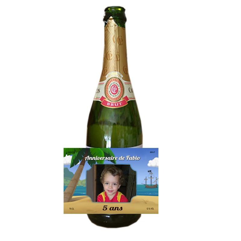 Etiquette Pour Bouteille De Champagne Personnalisée