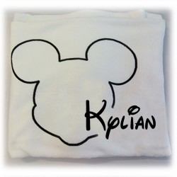 Couverture tête mickey
