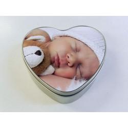 boite cœur aluminium