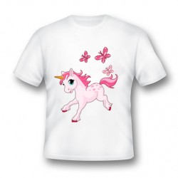 tee shirt licorne personnalisé