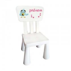 chaise enfant à personnaliser