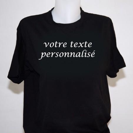 tee shirt femme a personnaliser t shirt noir. Black Bedroom Furniture Sets. Home Design Ideas