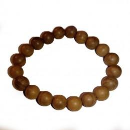 bracelet perles de santal