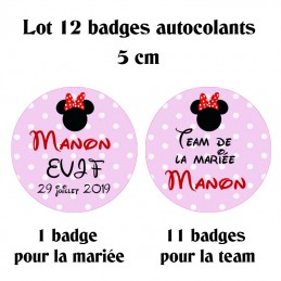 badge evjf personnalise