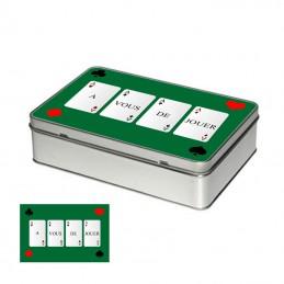 boite cartes à jouer