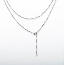 collier acier inoxydable pour pendentif