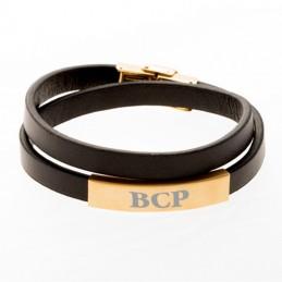 bracelet en cuir personnalisé