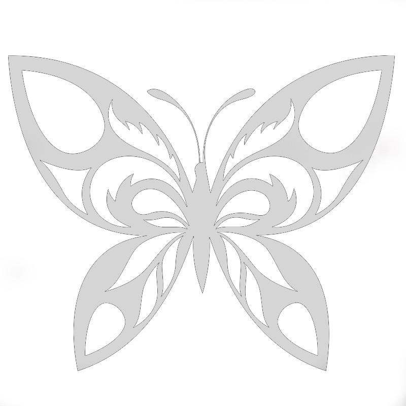 transfert papillon