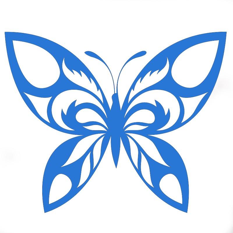 flocage papillon