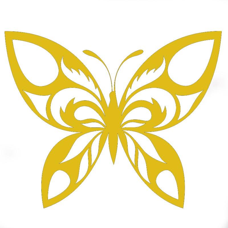 modèle flocage papillon