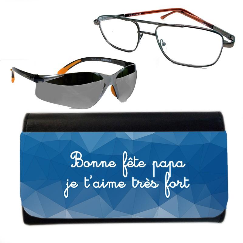 étui à lunettes personnalisé