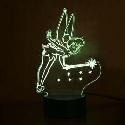 lampe fée clochette