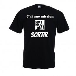 T-shirt espace game