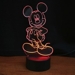 lampe led mickey