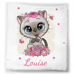 couverture bebe personnalisee