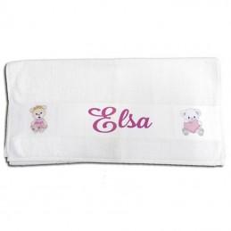 serviette de bain personnalisée
