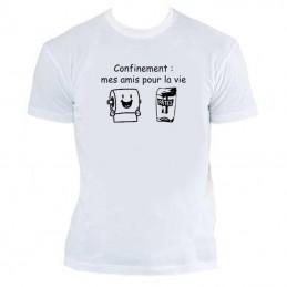 t-shirt humoristique coronavirus