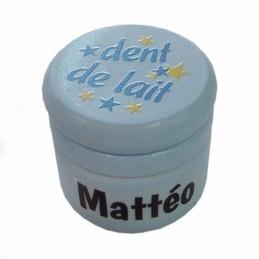 boîte dents de lait personnalisée