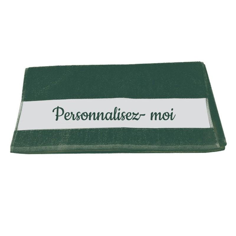serviette personnalisée