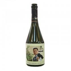 etiquette bouteille champagne