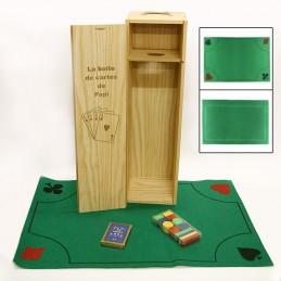 coffret cartes à jouer personnalisé