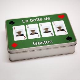 boite cartes à jouer tarot
