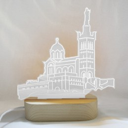 lampe led Notre-Dame de la Garde
