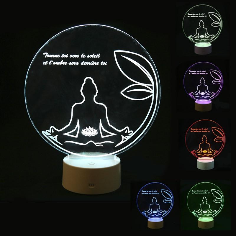 lampe zen personnalisée