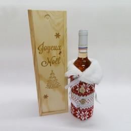 caisse à vin gravée