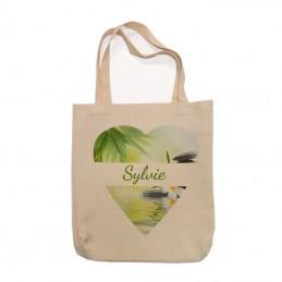 sac cabas lin personnalisé