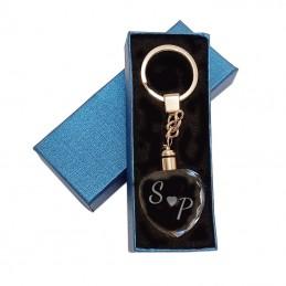 Porte clés cristal