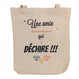 sac coton lin
