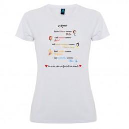 T-shirt princesses Disney
