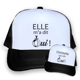 casquette evg personnalisee