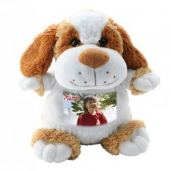peluche chien personnalisée