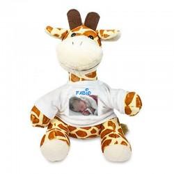 pluche girafe pesonnalisée