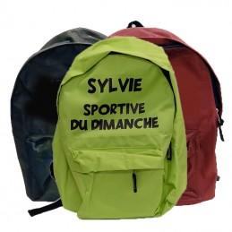 sac à dos à personnalisé