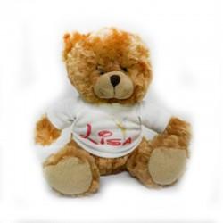 peluche ours personnalisée