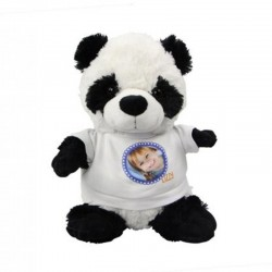 peluche panda personnalisee