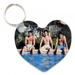 porte clés coeur pesonnalise