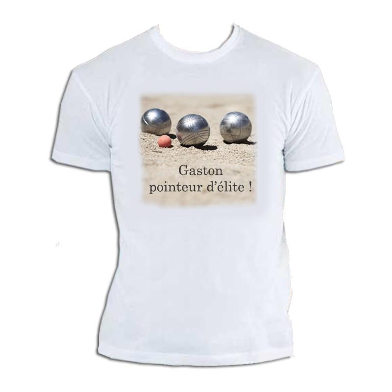 Tee Shirt Personnalisé avec Texte - T-Shirt