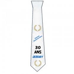 Cravate décor Couronne laurier
