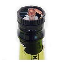 Bouchon de bouteille personnalisée avec photo, texte.