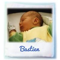 couverture pour bébé personnalisée