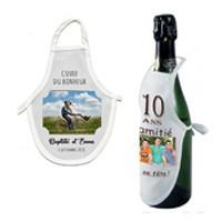 Tablier de bouteille